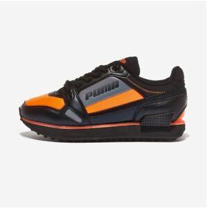 Puma Mile Rider Bright Peaks Orange All Size Authentic Men's Sneakers - 37411303