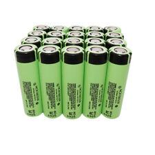 20Pcs Batería 3400mAh Litio Recargable NCR18650B Battery High Drain Flat Nuevo