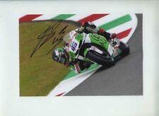 Scott Redding Gresini Honda Moto GP Mugello 2014 Signed Photograph