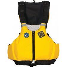 Harmony Gear Kickback Kayak Life Jacket Yellow, XL / XXL, Safety Yellow, PDF