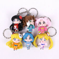 SAILOR MOON - SET 6 FIGURAS / KEY CHAIN / PENDANTS / KEY RING / 6 FIGURES SET