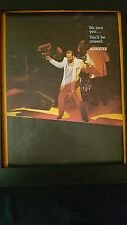 Marvin Gaye Marquee Theater Memorial Promo Poster Ad Framed!