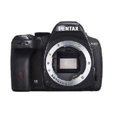 USATO Pentax K-50 16MP con LCD da 3 pollici Corpo Black ECCELLENTI SPEDIZIONE GRATUITA