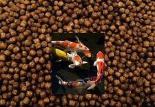 Premium 3mm Pellets Food Japanese Koi Carp Pond Goldfish High Growth 44 Protein 10kg