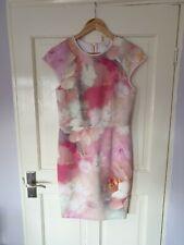 BNWOT £139 Ted Baker Size 2 UK 8 10 Pink Floral Dress Wedding?