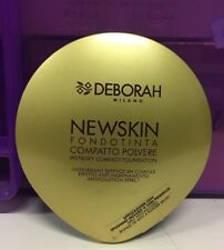 DEBORAH MILANO NEW SKIN 04 FONDOTINTA COMPATTO IN POLVERE FOUNDATION SPF15