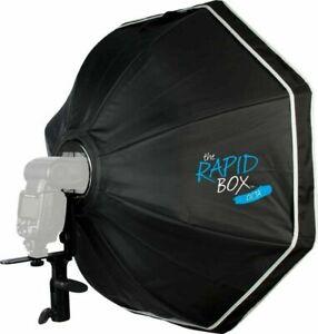 "Westcott Rapid Box Octa Softbox Speedlite Kit (26"") w/ deflector plate Excellent"