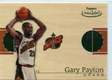 GARY PAYTON 2000-01 Topps Gold Label Home Court Advantage #HCA9 Seattle Sonics