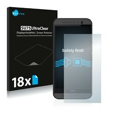 18x Savvies Screen Protector for HTC One M9 Ultra Clear