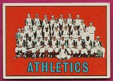 1967 TOPPS # 262 ATHLETICS  TEAM PHOTO  EX-MT CARD (INV# A4164)