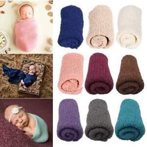 Newborn Girl Boy Toddler Crochet Knit Wrap Cocoon Photography Photo Props Soft