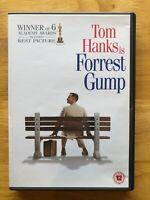 Forest Gump DvD 1994 Tom Hanks GENUINE UK Region 2 DVD Sally Field Free Post