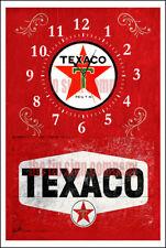 Orologio da parete TEXACO. IDEALE per garage, officina, ecc. personalizzare le tue attività