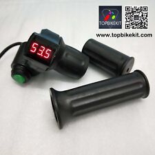 12V-84V Half Twist Throttle Handlebars with Led Display and Cruise function