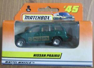 1998 Matchbox ROW Asian cars 5/5 #45 Nissan Prairie Van