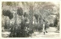 1930s Moro California Frasher Sniffs Date Garden RPPC real photo 6385 Indio