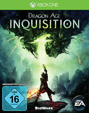 Dragon Age: Inquisition (Microsoft xbox one, 2014, DVD-Box) NEUF emballage d'origine