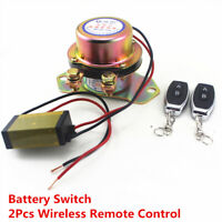 Battery Switch Manual Control Relay Copper Solenoid Valve Terminal Master Killer