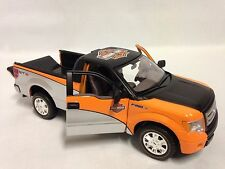 "Harley Davidson 2010 Ford F-150 Pickup Collectible 8"" Diecast 1:24 Maisto Toy BK"