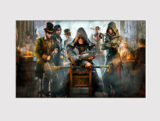 32 nuevos grandes Lona Multi Pared Arte Assassin's Creed childrenprint Imagen