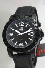 KIENZLE Herrenuhr Schwarzes Armband Wasser abweisend 10BarW.R.