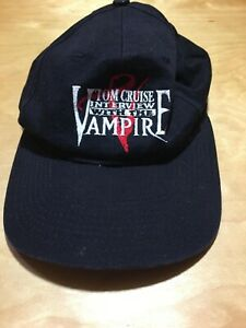 RARE Vintage Tom Cruise Interview With The Vampire Movie Promo Hat Snapback 1994
