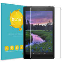 For All-New Amazon Fire HD 8 8th Gen 2018 Tablet Tempered Glass Screen Protector