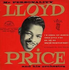LLOYD PRICE I'M GONNA GET MARRIED FRENCH ORIG EP 45 PS 7""