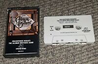 Allman Brothers Band Enlightened Rogues album Cassette tape NO BARCODE vtg print