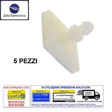 5 PZ SUPPORTO ADESIVO PER BASETTA PCB DISTANZIALE POLIAMIDE PLASTICO 6,4 x 3,5mm