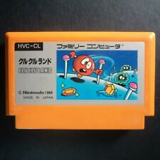 CLU CLU LAND Nintendo Famicom NTSC JAPAN・❀・ARCADE PUZZLE 1984 NES クルクルランド