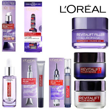 L'oreal Revitalift Filler+Hyaluronic Acid Day-Night- Eye Cream & Serum*Original*