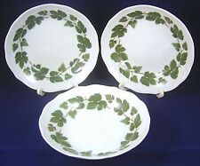 3 HUTSCHENREUTHER FRUIT BOWLS WEINLAUB Grape Leaves Vegetable Maria Teresia