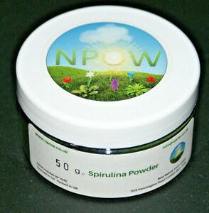 Spirulina Powder (Organic) by NPOW™ - 10g - 100g CAS 724424-92-4