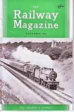 THE RAILWAY MAGAZINE - NOVEMBER 1961