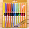 12x Art Graphic Drawing Dual Twin Tip Brush Sketch Manga Water Color Marker Pen
