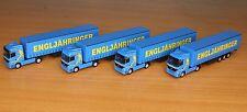 Herpa 066150, Spur N, LKW-Paket Spedition Engljähringer, 4-teilig