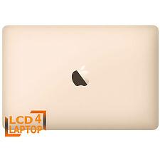 """RICAMBIO 12 """" MacBook A1534 MLHE2LL/A EMC : 2991 COMPLETO LCD LED MONTAGGIO ORO"""