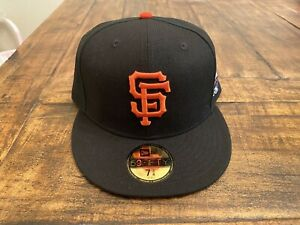 San Francisco Giants New Era 2002 World Series Side Patch 59Fifty Gray UV 7 3/4