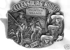 1992 Ellensburg Rodeo Commemorative Belt Buckle