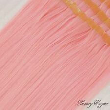 "40pcs 20"" Hi-Temp SYN 3M Tape-in Hair Extensions #PINK  PARTY Colors-Lux.Vogue"