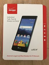Brand New Verizon LG K8 V VS500PP  16GB Android for Pre-Paid Service only