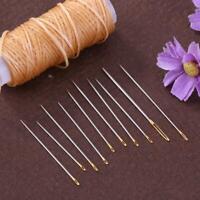16Pcs Hand Nähnadeln Set Nähen Nadeln Kit Haushalt Leder Teppich-Reparatur-Tools
