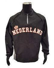 Majestic Nederland 2013 WBC Triple Peak Cool Base Gamer Jacket (Black, Large)