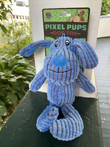 Bow Wow Pet Pixel Pups Squeaky Dog Toy