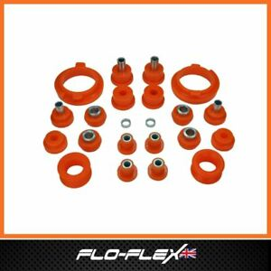 Ford Escort MK4 Rear Suspension & Chassis Bushes in Poly Polyurethane- FloFlex