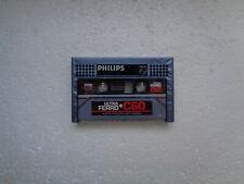 Vintage Audio Cassette PHILIPS Ultra Ferro C60 * Rare From Belgium 1981 *