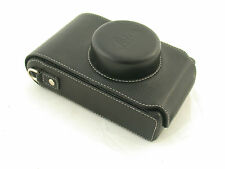 LEICA case Tasche leather padded I II Model A C D Elmar 3,5/50 50mm elegant  /17