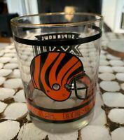 NFL Cincinnati Bengals Superbowl XXIII Vintage Collectible Football Glass 1989