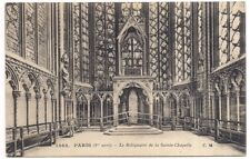 paris , le reliquaire de la sainte-chapelle ---